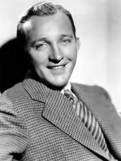 "Bing Crosby (1904 - 1977) Singer/actor, starred with Bob Hope in ""The Road to ..."" movies"