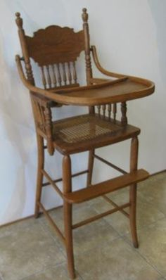 Antique High Chairs Accent Red 42 Best Images Furniture Oak Chair Annalees Antiques
