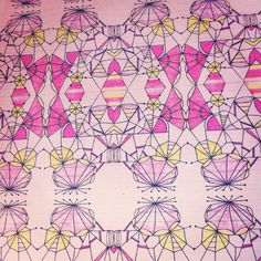 Doodle repeat pattern.