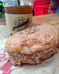 Cinnamon raised crunch donut at Do-Rite Donuts #donut #chicago