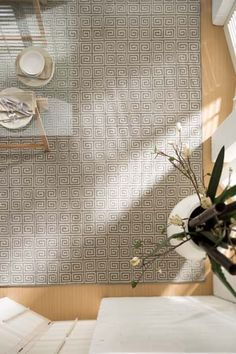 Geometric and classic, the complex pattern of the Cromwell creates a timeless rug that is strong and enduring but not too forceful. It provides a secure anchor but doesn't over-power while its hand-knotted wool weave is a testament to the craft. Floor Rugs, Luxury Flooring, Luxury, Colours, Redecorating, Round Mirror Bathroom, Rugs, Rugs Australia, Custom Sizing