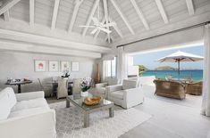 TheCheval Blanc Hotel on St Barths (pictured) came in at number three on…