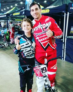 Kid Rocket & Justin Posey raising money for Aussie bmx Olympic medalist Sam Willoughby @usabmx Grand Championship in Tulsa, Oklahoma https://road2recovery.com/cause-view/strengthfor91  #KidRocket #northcarolina #bmx #danscomp #pro #Justin #Posey #grands16 #SamIAm #Sam #Willoughby #StrengthFor91 #road2recovery #fundraising