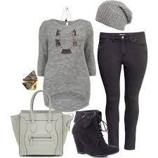 I like this but I'd replace those awful fugly scrawny-legged things with proper boot cut jeans. women's plus size casual outfits - Google Search