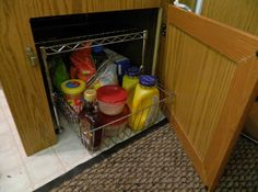 Popup camper storage