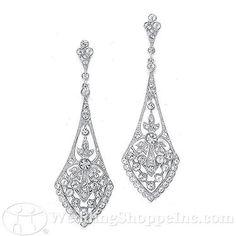 Bridal Jewelry Mariell 1072E Wedding Jewelry  Image 2