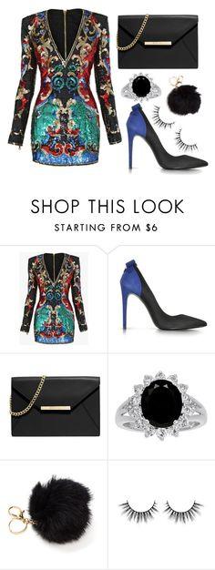 """Fashion Week"" by mode-222 ❤ liked on Polyvore featuring Balmain, Loriblu and MICHAEL Michael Kors"