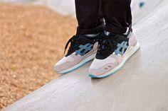 #asics gel lyte 3 captain-blue #sneakers