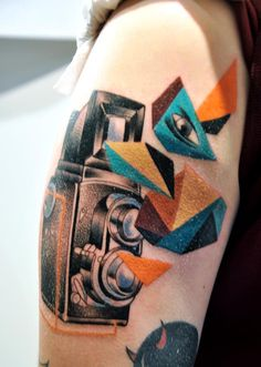 Victor montaghini | followthecolours tattoo friday Mariusz Trubisz 18 #tattoofriday ...