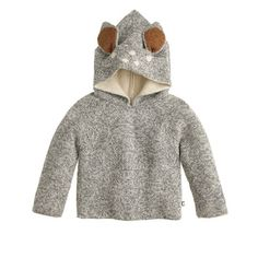 When buying something adorable means helping out someone else, everything just seems to make sense. And that's what you're doing when you choose Oeuf's too-cool, totally adorable animal hoodie in luxurious (and hypoallergenic) baby alpaca wool. Although the brand is based in Brooklyn, Oeuf's styles are hand-knit in Bolivia by a self-managed community of indigenous women, enabling them to afford proper health care and schooling for their children. With sustainability in mind, each item is ...