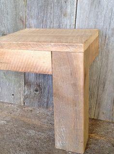 Antique Oak Parsons Table Detail