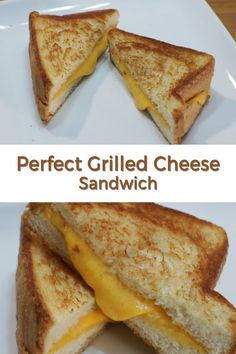 Perfect grilled cheese sandwich pin for Pinterest Grilled Cheese Recipes Easy, Perfect Grilled Cheese, Grill Cheese Sandwich Recipes, Grilled Cheese Sandwiches, Sandwich Recipes For Kids, Homemade Sandwich, Foods For Bloating, Easy Eat, Easy Cheese
