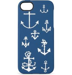 @Abbie Barnes Barnes Barnes Levine  Anchors Aweigh Printed Rubber iPhone 5 Case