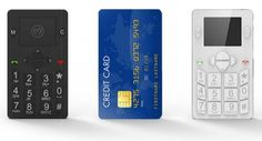 Micro-Phone credit-card sized mobile 1