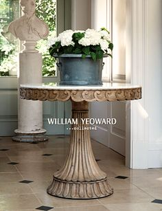 William Yeoward. Love his furniture. {http://www.williamyeoward.com}