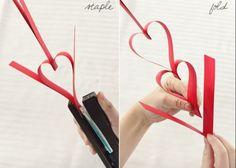 画用紙で簡単DIY♡ハートのペーパーガーランドの作り方と、素敵な飾りつけアイデアまとめました*