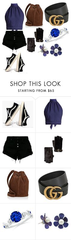 """""""Untitled #293"""" by lizzie12304 on Polyvore featuring Madewell, CECILIE Copenhagen, Nobody Denim, MICHAEL Michael Kors, Jérôme Dreyfuss and Gucci"""
