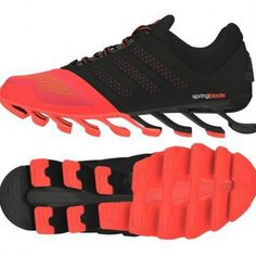 Adidas Springblade Drive 2.0 Black Red Shoes Adidas Nmd, Adidas Sneakers, Red Shoes, Kicks, Black, Projects, Fashion, Red Dress Shoes, Log Projects