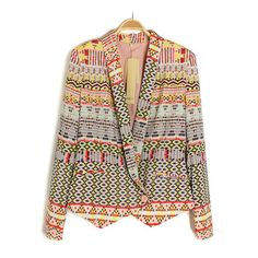 powomall is specialized in designing and producing comforable unique clothes and accessories for women, at affordable prices. Slim Suit, Printed Blazer, Fair Lady, Retro Pattern, Unique Outfits, Unique Fashion, Suits, Sweaters, Jackets