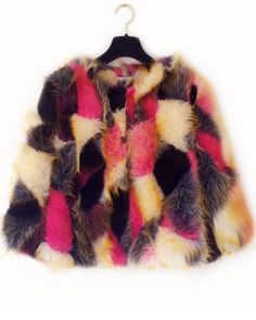 Shop Pink Faux Fur Crop Coat online. Sheinside offers Pink Faux Fur Crop Coat & more to fit your fashionable needs. Free Shipping Worldwide!