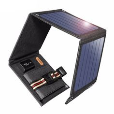 Suaoki SunPower Solar Cells Charger USB Out .- Suaoki SunPower 14 Watt Solar Cells Charger 5 V USB Ausgabegeräte Tragbare… Suaoki SunPower 14 Watt Solar Cells Charger USB Output Devices Portable Solar Panels for Smartphones Laptop - Portable Solar Panels, Solar Energy Panels, Best Solar Panels, Usb, Kit S, Solar Roof Tiles, Smartphone, Output Device, Solar Projects