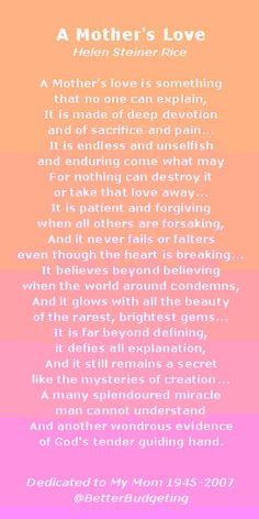 A Mothers Love Poem mothers day happy mothers day happy mothers day pictures mothers day quotes happy mothers day quotes mothers day quote mother's day happy mother's day quotes mothers day poem