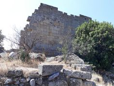 heraklia ancient city.muğla turkey