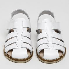 GIRLS WEDDING SHOES | Papouelli Girls Wedding Shoes, Little Boy And Girl, Buy Buy Baby, Girls Accessories, Velcro Straps, Girls Shopping, Summer Shoes, White Leather, Best Sellers