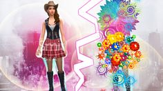Tworzymy BAD GIRL || The Sims 4 ||