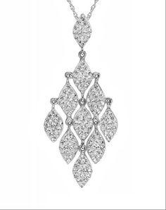 Sterling Silver Crystal Chandelier Pendant Necklace with Swarovski Elements Amanda Rose Collection http://www.amazon.com/dp/B00IWZDUJ8/ref=cm_sw_r_pi_dp_.35zub0B36DJX