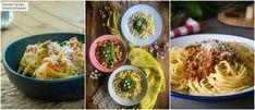 Estas son las tres mejores salsas para acompañar tus platos de pasta, con vídeo recet Salsa Carbonara, Salsa Pesto, Carne Picada, Spaghetti, Pizza, Ethnic Recipes, Food, Gastronomia, Pasta Dishes