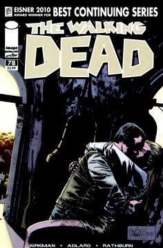 Capa da Edição #78 de The Walking Dead