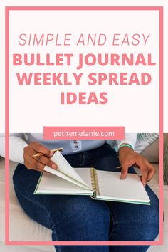 Here are 8 simple and easy Weekly spread ideas for the Bullet Journal! These are easy Weekly log spreads I've tried in my Bullet Journal. These Weekly spread layouts are minimalist and easy to create! For quick Bullet Journal set ups. Daily log, Weekly log, weekly planning. Bullet Journal spread layout ideas.