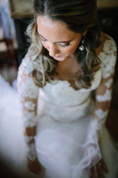 Long Sleeve Lace Hayley Paige Wedding Dress