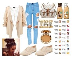 """""""."""" by nailahmyers ❤ liked on Polyvore featuring MICHAEL Michael Kors, Charlotte Russe, Topshop, Wanderlust + Co and Ileana Makri"""