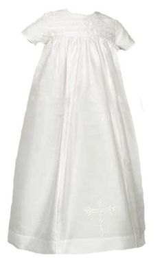 Laura Ashley Unisex Christening Gown in all Silk « Clothing Impulse