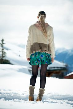 Blog mode Lyon Artlex / blogueuse, bottes fourrées vintage, Crans-Montana, diy, Do it yourself, fashionblog, fashionblogger, jupe imprimée, lyon, lyonnaise, mister gugu and miss go, neige, ootd, outfitoftheday, station de ski, street look, street style @Mr.GUGU Miss Go