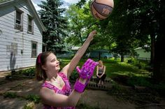 PEKIN — After a lifetime of challenges, Kaelie Morgan needed a hand — so her uncle made her one.