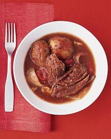 Martha Stewart Italian Pot Roast in Slow Cooker