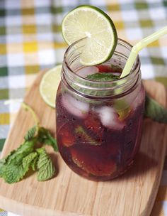 Hibiscus Mojito by Appetite for China: I have a feeling this is about to become a staple in my diet.