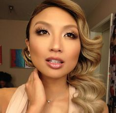 Makeup Tips, Hair Makeup, Asian Makeup Looks, Jeannie Mai, Twist Outs, Eyeshadow Looks, Too Faced Cosmetics, Beauty Hacks, Beauty Ideas