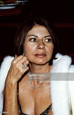 Princess Soraya of Iran In Paris, France On October 15, 1982-Princess Soraya of Iran at the evening to celebrate the 2nd anniversary of 'L' Apocalypse'.