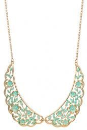 Shabby Love Floral Filigree Vintage Collar Necklace in Mint #necklaces #accessories #boutique