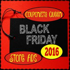 Store ads, hours and information to plan your Black Friday and Thanksgiving shopping