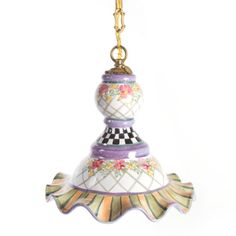 MacKenzie-Childs - Odd Fellows Pendant Lamp - Medium
