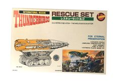Imai Thunderbirds: Rescue Set – The Mole & Excavator (Imai Model Kit) - Thunderbirds