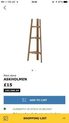 Askholmen corner ladder £15