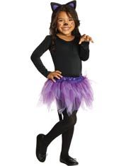 Toddler and Girls Cat Costume  sc 1 st  Pinterest & purrfectly adorable | Avenu0027s pics | Pinterest | Cat girl costume ...