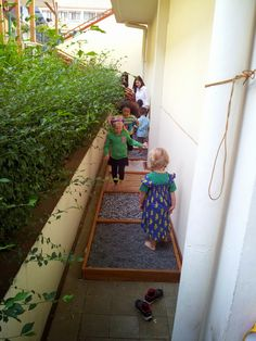 Barefoot - TAKE A WALK ON OUR SENSORY PATH   Early Childhood Inquiries and Connections Owl School, Learning Support, Sensory Integration, Sensory Play, Walk On, Early Childhood, Barefoot, Classroom Ideas, Connection