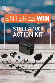 Enter to win a Stella 1000 Action LED Light Kit valued at $579! Gain more entries with social sharing too!